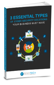 A guide on the three essential types of cyber security solutions for businesses.