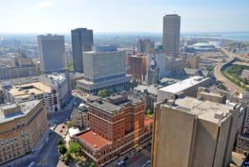 A daytime image of Binatech's Buffalo, New York location.